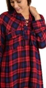 Umgee Flannel Tunic (m)